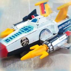 Albator - Aviscoupe - Takara - 1978 - Captain Harlock Cosmowing - Récré A2