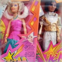 Jem Et Les Hologrames - LOT X2 - Jessica Et Rio - NEUF - 1985/86 - Vintage - TF1- HASBRO