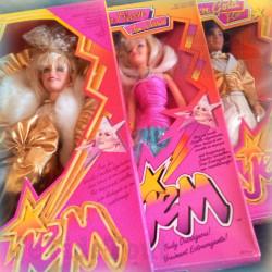 Jem Et Les Hologrames - LOT X3 - Jem Jessica Et Rio - NEUF - 1985/86 - Vintage - TF1- HASBRO