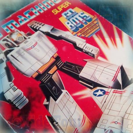 Super GoBots - Leader - 1985 BOITE FR BOXED - Bandai - Tonka - Rare - Vintage - Club Dorothée