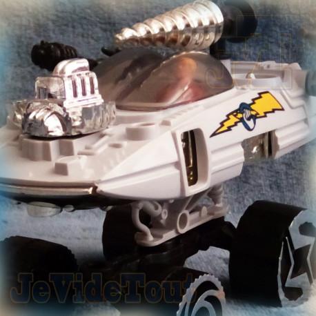 Jayce Et Les Conquérants De La Lumière - Vrillair - COMPLET - 1984 - Mattel - Drill Sergeant - Vintage - Wheeled Warriors