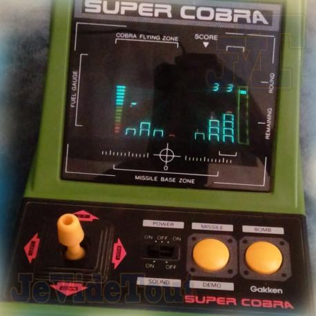 TableTop - Gakken - Super Cobra - RARE - Jeu Electronique Vintage 80'S