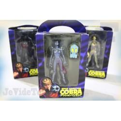 Cobra - Lot X3 - Neuf - Figurine - Rare - Club Dorothée - Cobra The Space Pirate