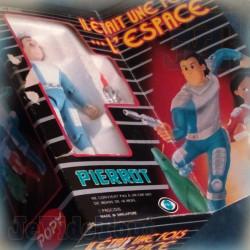 Il Etait Une Fois L'Espace - Pierrot - BOITE FR - Popy - BOXED Vintage Die cast - Rare - FR3 Procidis