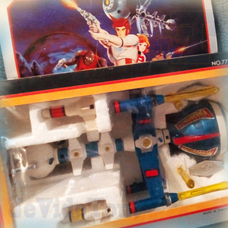 Capitaine Flam - Cyberlabe - Popy - Complet BOITE FR - Captain Future Comet