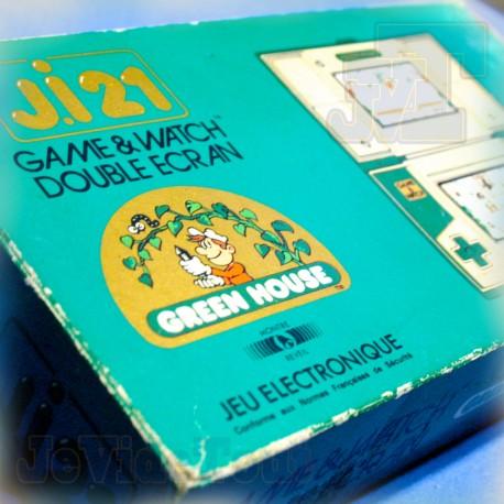 Game And Watch - Green House - 1982 - JI.21 BOITE FR RARE - Nintendo Jeu Electronique Vintage 80'S