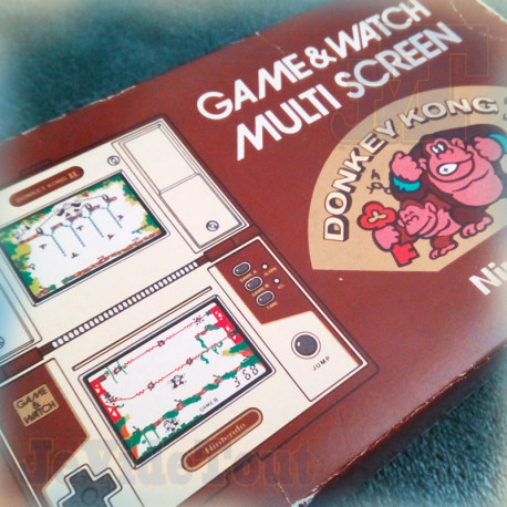 Game And Watch - Donkey Kong 2 - 1983 - RARE JEU VERSION FR - Nintendo - BOXED Jeu Electronique Vintage 80'S