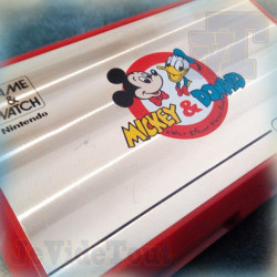 Game And Watch - Mickey Et Donald - 1982 - Nintendo - Jeu Vintage 80'S