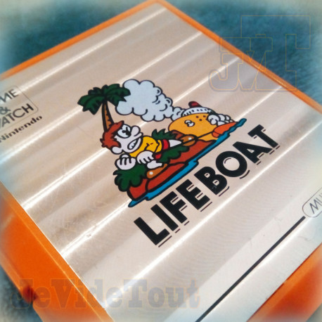 Game And Watch - Life Boat - 1983 - RARE - Nintendo Jeu Electronique Vintage 80'S