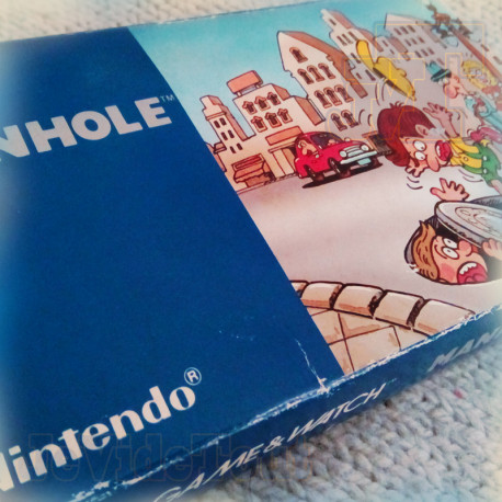 Game And Watch - Manhole - 1983 - COMPLET EN BOITE - RARE - Nintendo - BOXED Jeu Electronique Vintage 80'S
