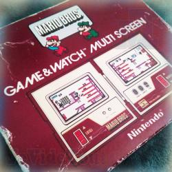Game And Watch - Mario Bros - 1983 - Nintendo - BOITE - Jeu Electronique Vintage 80'S BOXED