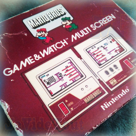 Game And Watch - Mario Bros - 1983 - Nintendo - BOITE - Jeu Electronique Vintage 80'S BOXED