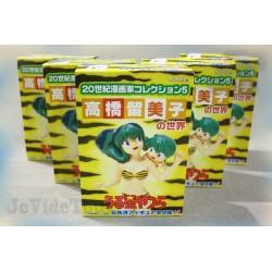 Lamu - LOT X5 - Collection Figurine Rare - Furuta Japan - TF1 - Club Dorothée - Urusei Yatsura