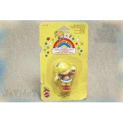 Blondine - Gomme - Figurine Vintage 1980 - Neuf - (Rainbow brite)