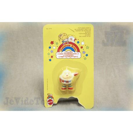 Blondine - P'tit Malin - Gomme - Figurine Vintage 1980 - Neuf - (Rainbow brite)
