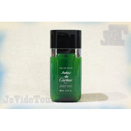 Cartier - Santos - Eau de Sport - 100ml - Trés Rare Parfum - Collection Vintage 90's