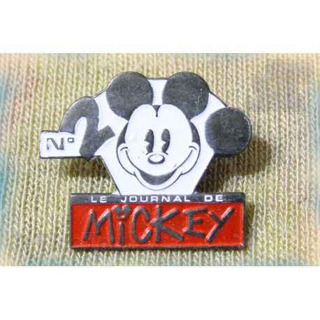 Disney - Journal De Mickey - Pin's - 2000 éme - Vintage - Rare - 80's 90's
