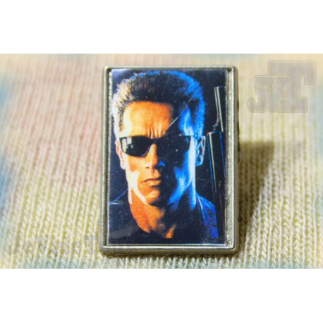 Terminator 2 - Pin's - Film Schwarzenegger - Vintage - Rare - 80's 90's