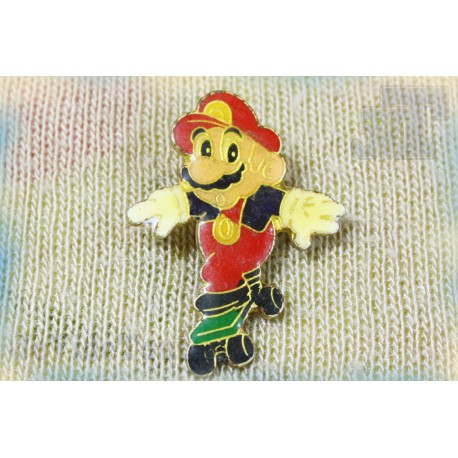 Super Mario Bros - Pin's - Skate - Nintendo - Vintage - Rare - 80's 90's