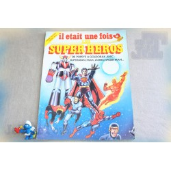 Goldorak - Livre Poster 1979 - Il Etait Une Fois Les Super Héros - Vintage Rare