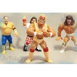 WWE - WWF - Hulk Hogan - LOT X4 - 1991 - Hasbro