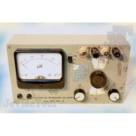 Mesureur D'Intensité - Vintage - TES - Modèle 661B - 60's