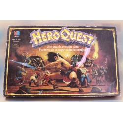 HeroQuest + 2 Extensions - LOT - 1989 - Jeu de Société - MB - Vintage