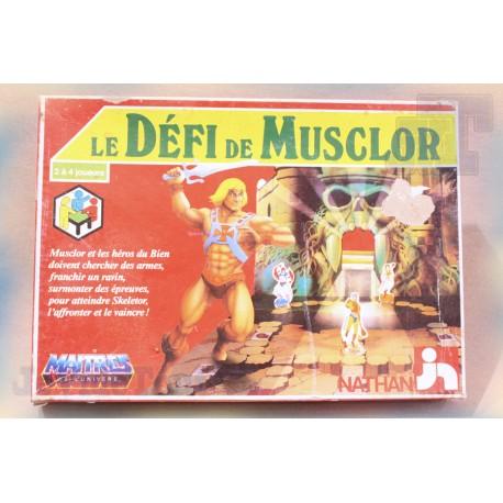 Le Défi de Musclor - 1985 - Jeu de Société - Nathan - Vintage - MOTU
