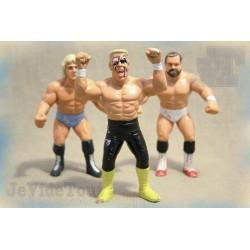 WWE - WWF - LOT X3 - 1991 - Hasbro