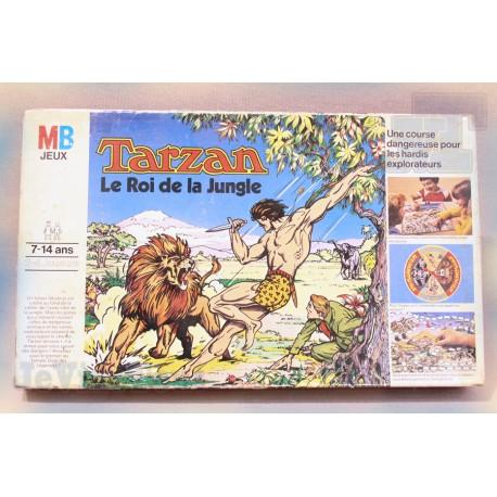 Tarzan Roi De La Jungle - 1977 - RARE - Jeu Société - MB - Vintage - Complet