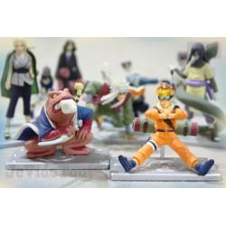 Naruto Shippuden Ninja - LOT X10 - Collection Ningyou Complète - Num 04 - Mini Figure Official - Bandai - Rare