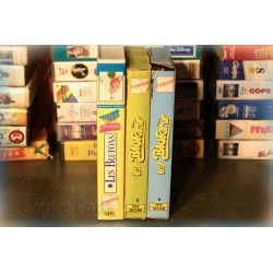 LOT VHS X11 VINTAGE 80/90 - DESSIN ANIME - Noel - Corentin - Michel Strogoff - Flipper