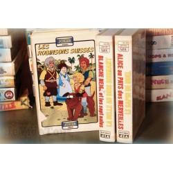 LOT X3 VHS VINTAGE 80/90 - DESSIN ANIME RARE - Vieux Contes