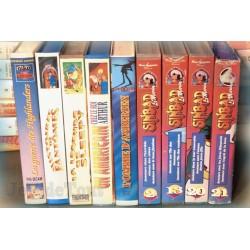 LOT X9 VHS 80/90 - DESSIN ANIME VINTAGE - Sinbad , Divers
