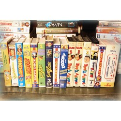 LOT X16 VHS 70/80/90 - DESSIN ANIME VINTAGE - Super Souris, Cartoon , Divers