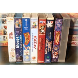 LOT X8 VHS 80/90 - DESSIN ANIME VINTAGE - Longmètrages - TF1 - Disney..