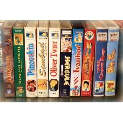 LOT X10 VHS 80/90 - DESSIN ANIME VINTAGE - Vieux Contes - RARE