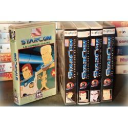 LOT X5 VHS 80/90 - DESSIN ANIME VINTAGE - Starcom - Club Dorothée - RARE