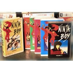 LOT X6 VHS 80/90 - DESSIN ANIME VINTAGE - Ninja Boy - RARE