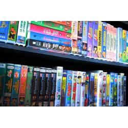 ENORME LOT +200 VHS DESSIN ANIME VINTAGE 70/80/90 +200 VHS RARES et TRES RARES