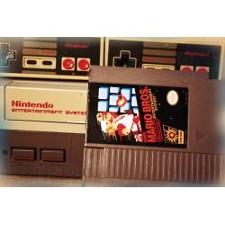 Console Nintendo NES - Mario Bros - 2 Manettes - COMPLET - Vintage