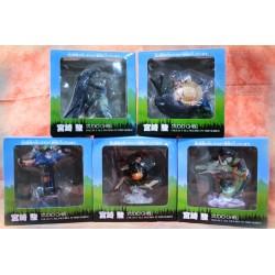 HAYAO MIYAZAKI - LOT X5 GHIBLI Collection RARE - Totoro - Chihiro - Kiki
